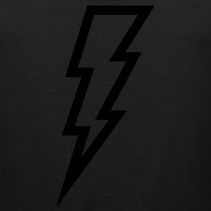 Lightning T Shirt (Glow in the Dark) - Men's Premium Tank