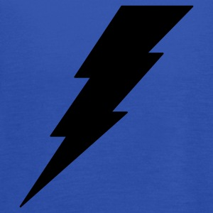 Lightning Bolt T Shirt - Women's Flowy Tank Top by Bella
