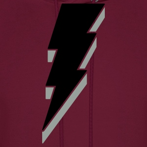 Lightning Bolt T Shirts - 3-D - Men's Hoodie