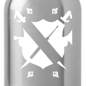 Lockpickers coat of arms [white edition] - Water Bottle