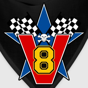 Yellow v8 T-Shirts - Bandana