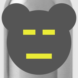 Chocolate Manga Bear T-Shirts - Water Bottle