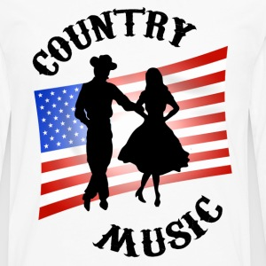 Natural Country Music T-Shirts - Men's Premium Long Sleeve T-Shirt