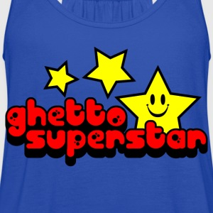 Royal blue Ghetto Superstar Kids Shirts - Women's Flowy Tank Top by Bella