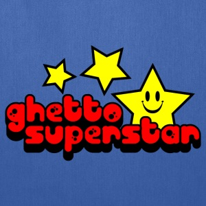 Royal blue Ghetto Superstar Kids Shirts - Tote Bag