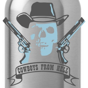 Black cowboys_from_hell T-Shirts - Water Bottle