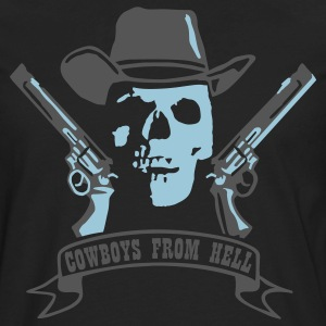 Black cowboys_from_hell T-Shirts - Men's Premium Long Sleeve T-Shirt