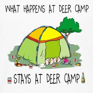 What Happens At Deer Camp, Stays At Deer Camp - Men's Premium Long Sleeve T-Shirt