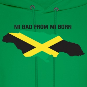 mi bad from mi born - Men's Hoodie