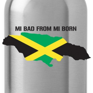 mi bad from mi born - Water Bottle