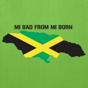 mi bad from mi born - Tote Bag