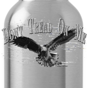 Black DONT TREAD ON ME T-Shirts - Water Bottle
