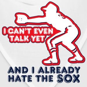 White Talk Yet Sox Hater Toddler Shirts - Bandana