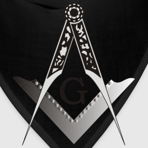 Masonic Square and Compass - Bandana