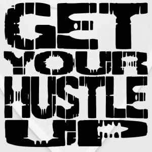 White hustle up T-Shirts - Bandana