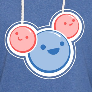 Sky blue Water Molecule T-Shirts - Unisex Lightweight Terry Hoodie