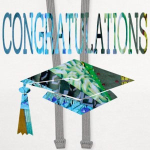 White CONGRATULATIONS GRADUATE T-Shirts - Contrast Hoodie