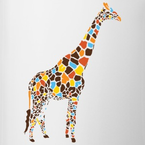 Natural Colorful Giraffe T-Shirts - Coffee/Tea Mug