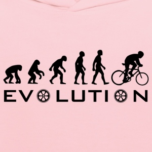 The Original Evolution Of Bike - Kids' Hoodie