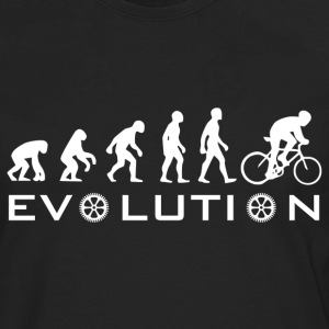 The Original Evolution Of Bike - Men's Premium Long Sleeve T-Shirt