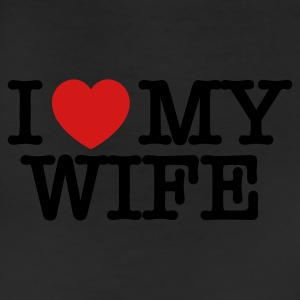 I Love My Wife T Shirt - Leggings