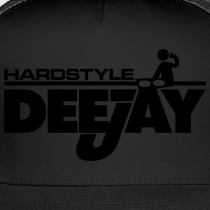 Black Hardstyle Deejay Toddler Shirts - Trucker Cap