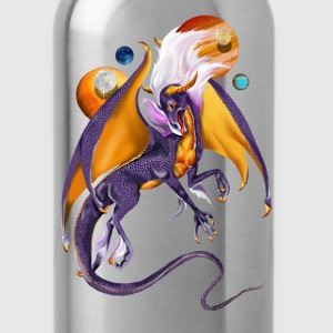 Dragons guarding worlds - Water Bottle