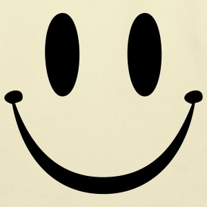 Yellow Smiley Face T-Shirts - Eco-Friendly Cotton Tote