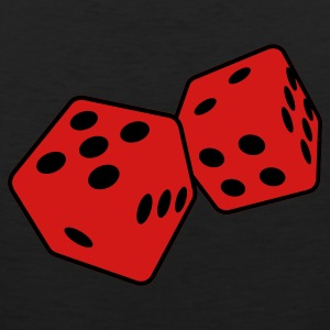 Black dice 2 T-Shirts - Men's Premium Tank