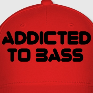 Red Addicted To Bass T-Shirts - Baseball Cap
