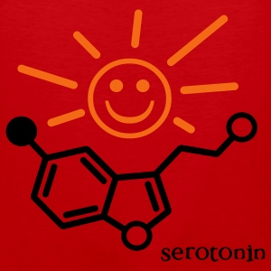 Serotonin Sun Toddler Shirt - Men's Premium Tank