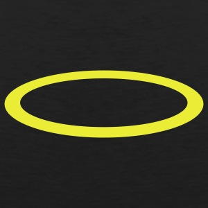 Black halo - circle T-Shirts - Men's Premium Tank