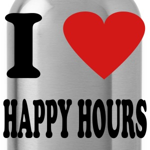 Royal blue happy hour T-Shirts - Water Bottle