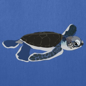 Baby Sea Turtle - Tote Bag