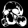 Black Skull with gas mask T-Shirts - Men's Premium T-Shirt