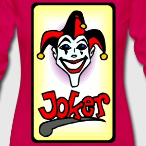 Joker card - Women's Premium Long Sleeve T-Shirt