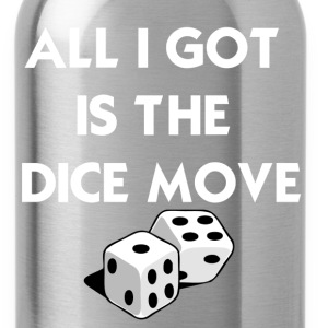 Black Dice Move T-Shirts - Water Bottle