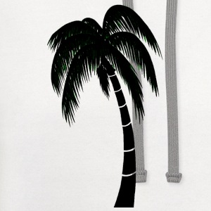White palm1 T-Shirts - Contrast Hoodie