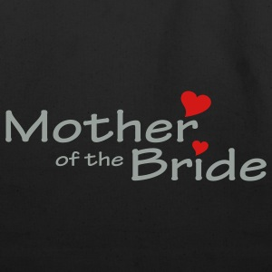 Black Mother of the Bride (wedding) Plus Size - Eco-Friendly Cotton Tote