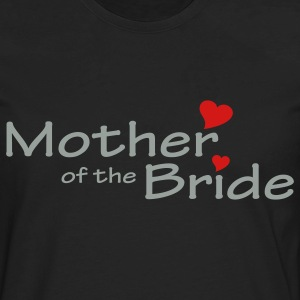 Black Mother of the Bride (wedding) Plus Size - Men's Premium Long Sleeve T-Shirt