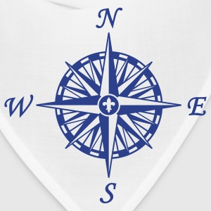 Natural Compass Rose T-Shirts - Bandana