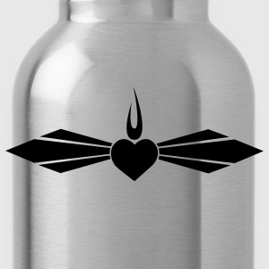 Navy Mercy T-Shirts - Water Bottle