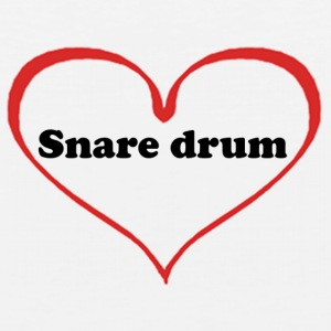 Snare Drum T-shirt - Men's Premium Tank