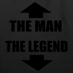 The Man The Legend - Eco-Friendly Cotton Tote