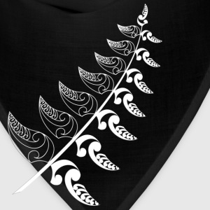 Royal blue Silver Fern  T-Shirts - Bandana