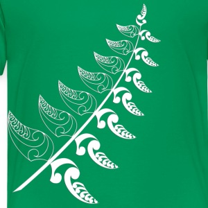 Kelly green Silver Fern  Kids' Shirts - Toddler Premium T-Shirt