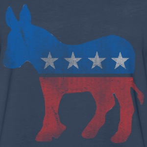 Democratic Donkey T-Shirt - Men's Premium Long Sleeve T-Shirt