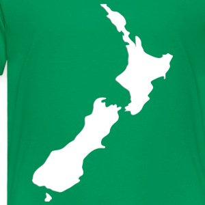 Kelly green New Zealand  Kids' Shirts - Toddler Premium T-Shirt