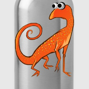 Goofy Orange Lizard - Water Bottle
