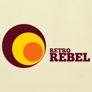 Gold retro rebel T-Shirts - Eco-Friendly Cotton Tote